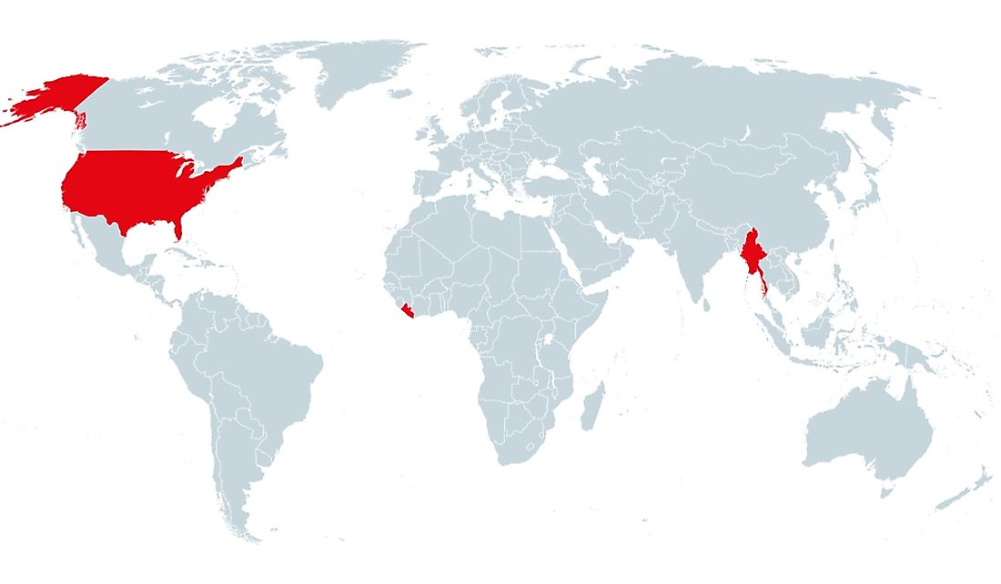 Which Countries Don't Use the Metric System?