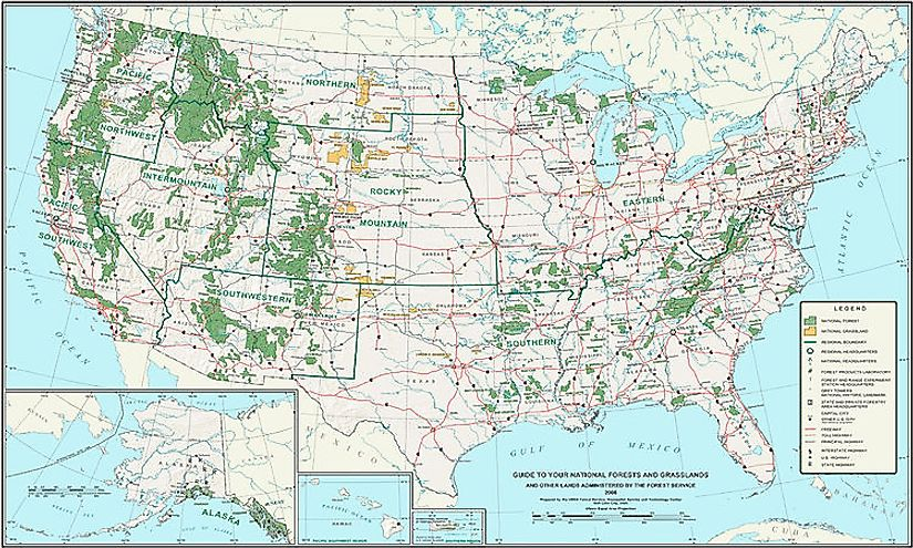 National Forests Of The United States: Significance In Biodiversity Conservation