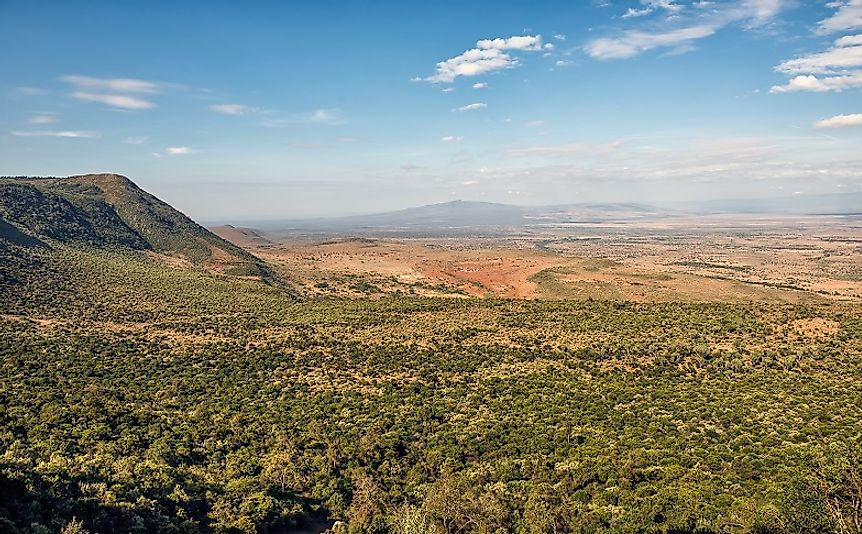 Eastern Rift Valley (Gregory Rift) - Geography of Africa