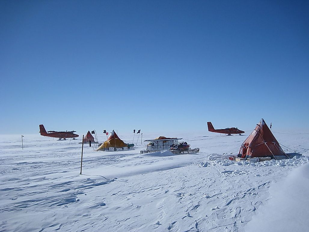 The Fastest Melting Glacier In Antarctica