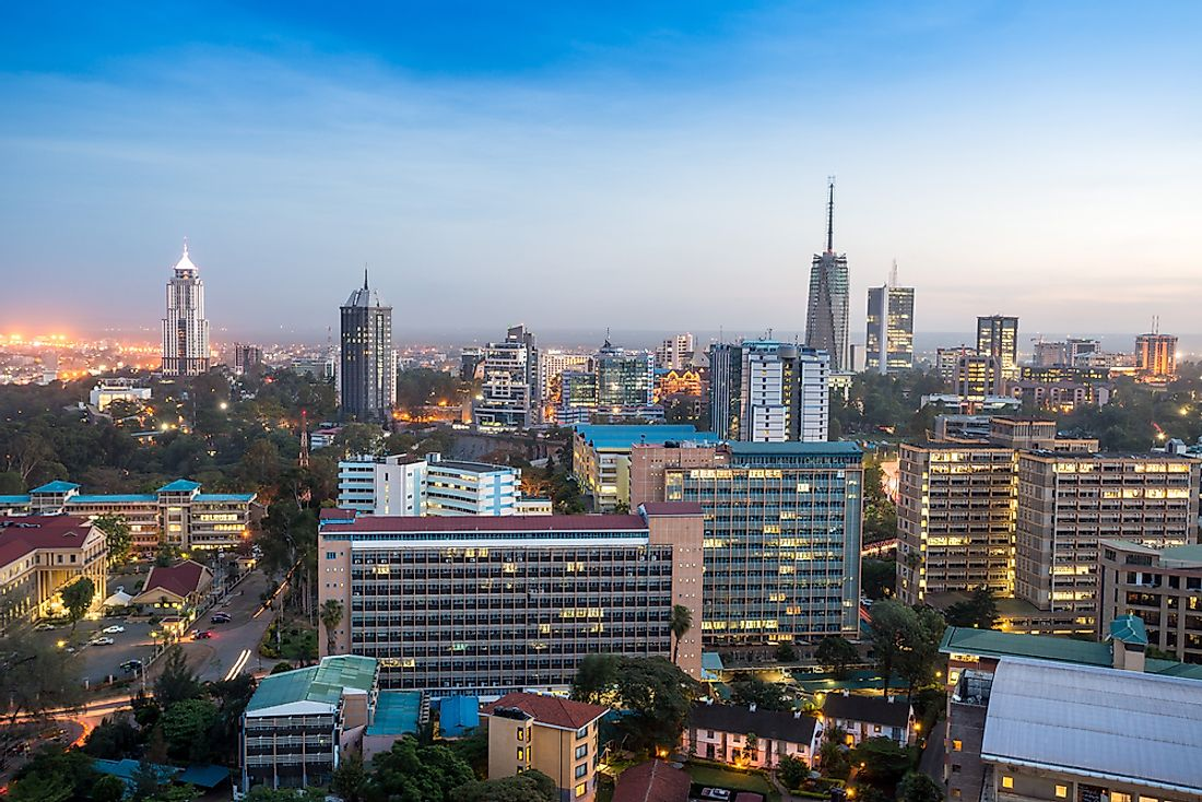 The Largest Cities in Kenya