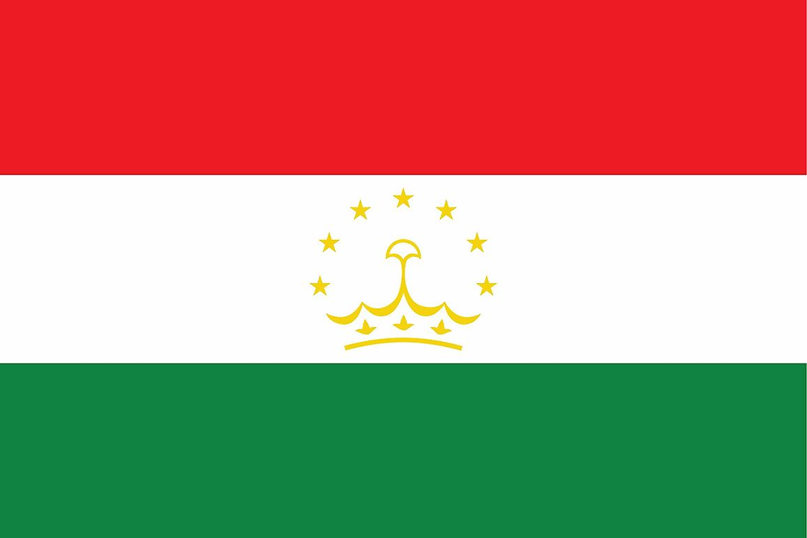 What Do the Colors and Symbols of the Flag of Tajikistan Mean?