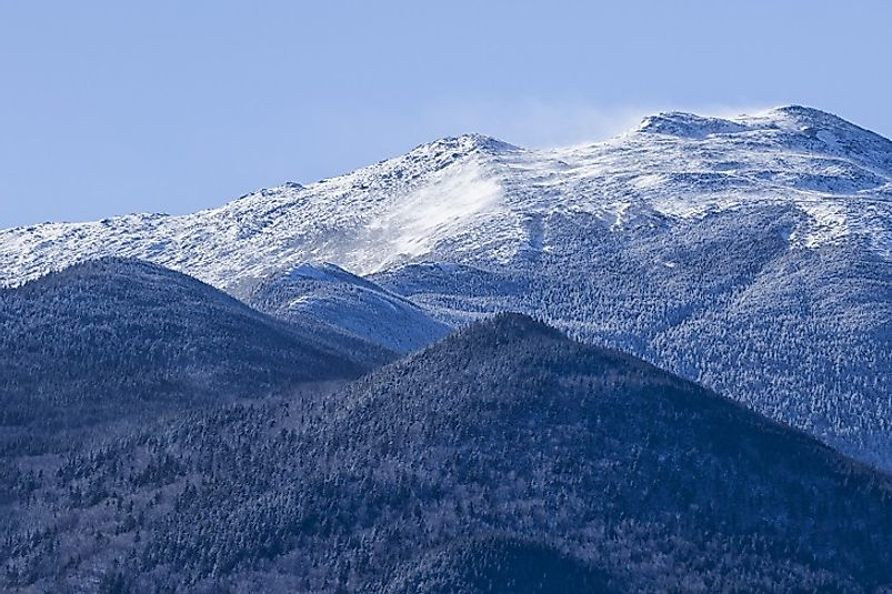 The White Mountains Of New England