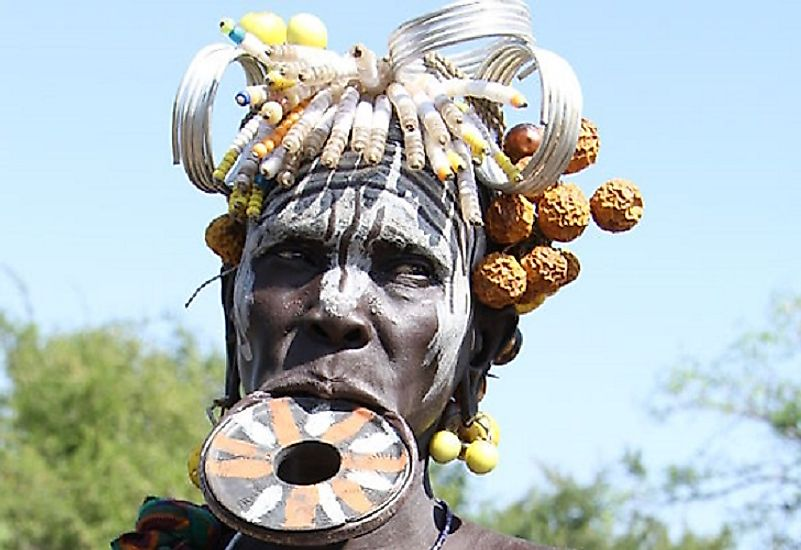 The Mursi People, Ethiopia