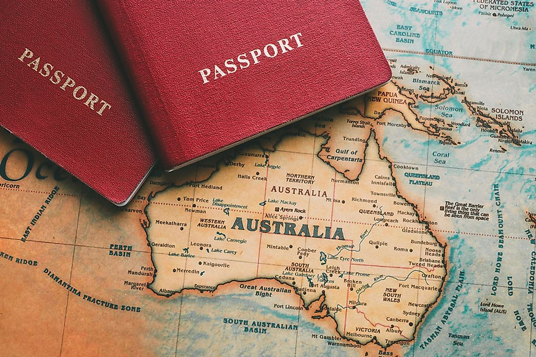 Where Do Visitors From Australia Come From?