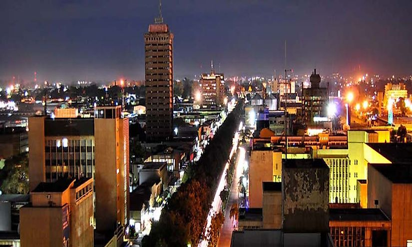 Biggest Cities In Zambia