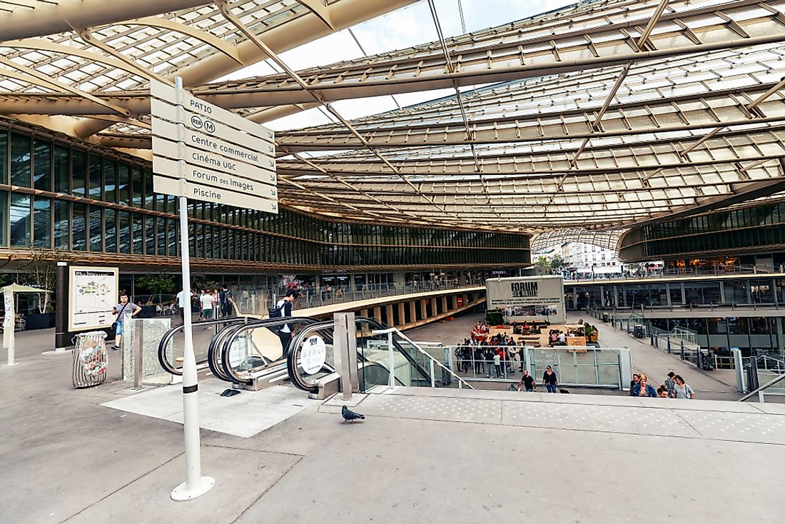 The Most Visited Shopping Centers In France