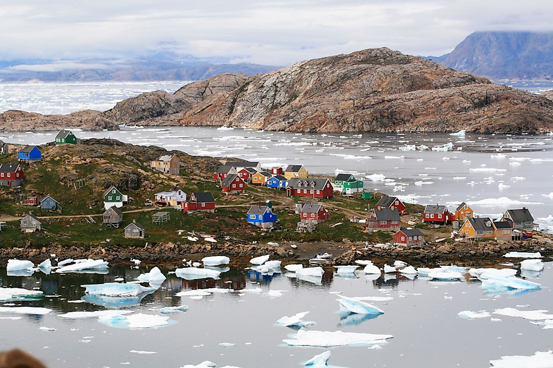 The 10 Northernmost Settlements In Greenland