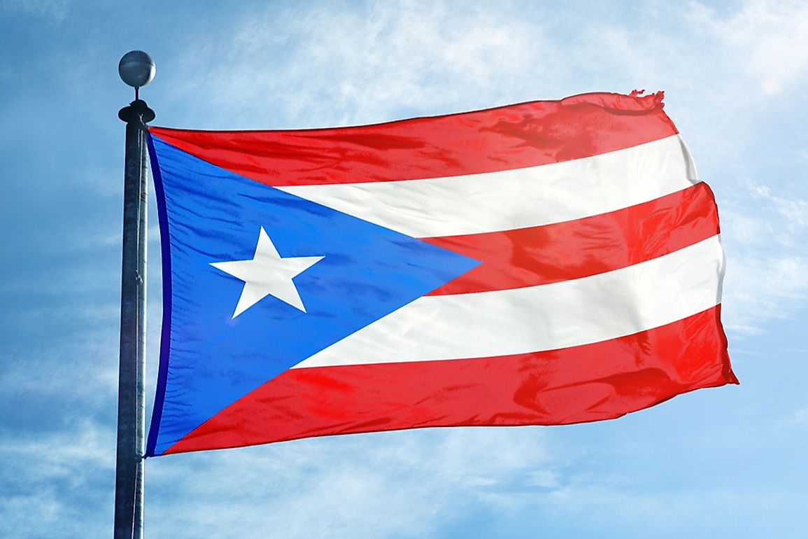 What Do The Colors And Symbols Of The Flag Of Puerto Rico Mean?