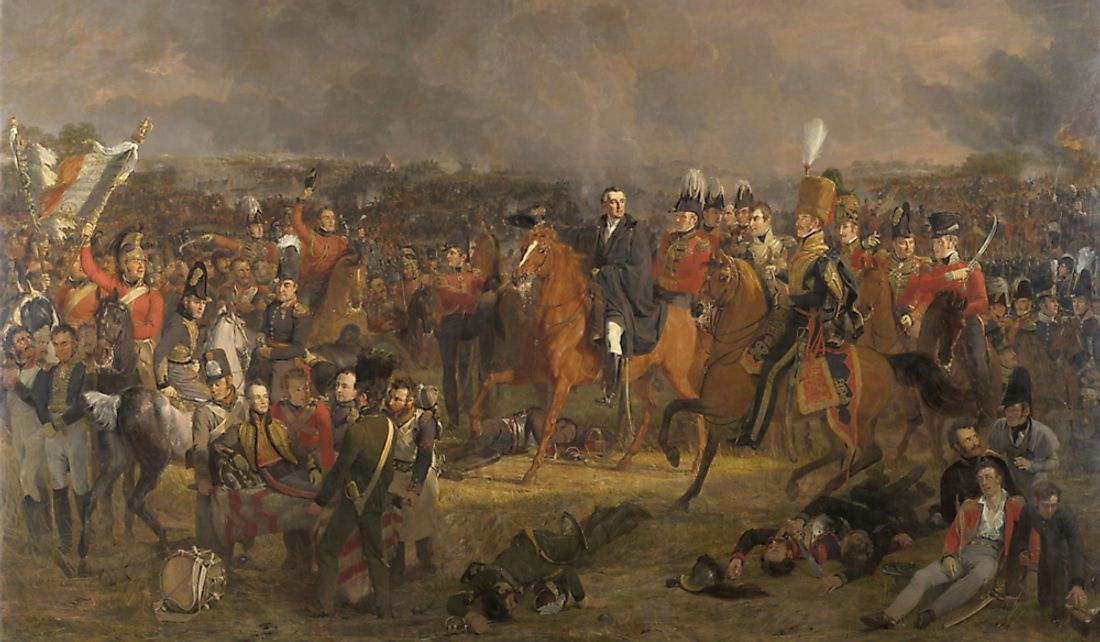 Which Countries Fought At The Battle Of Waterloo?