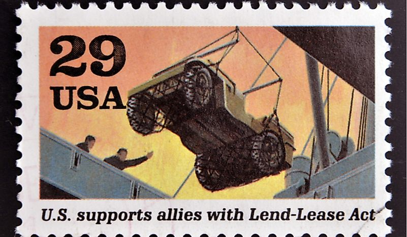What Was the Lend Lease Act in World War II?