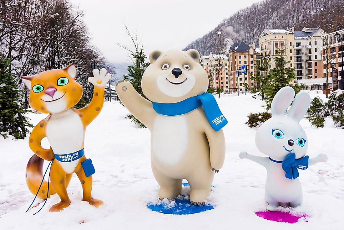 Olympic Mascots Throughout the Years