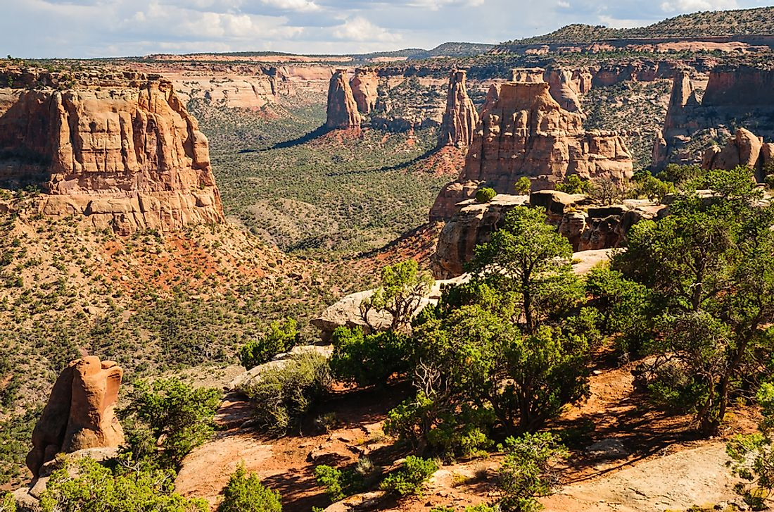 What and Where Is the Colorado National Monument?