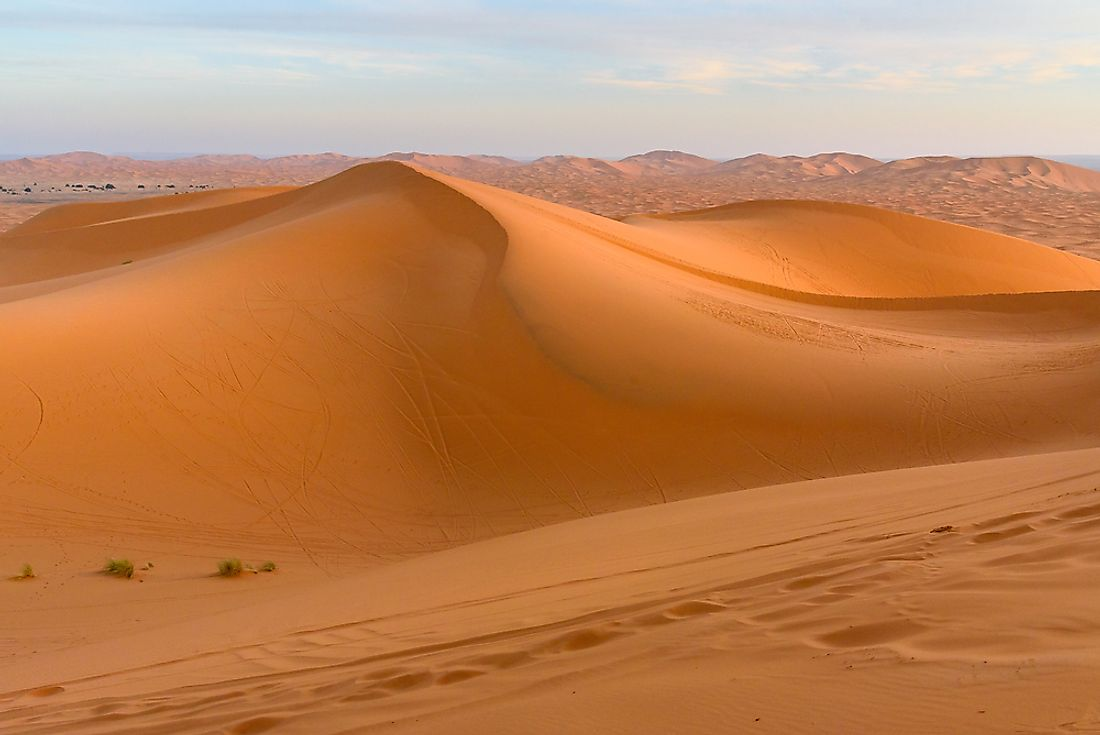 How Old Is The Sahara Desert?