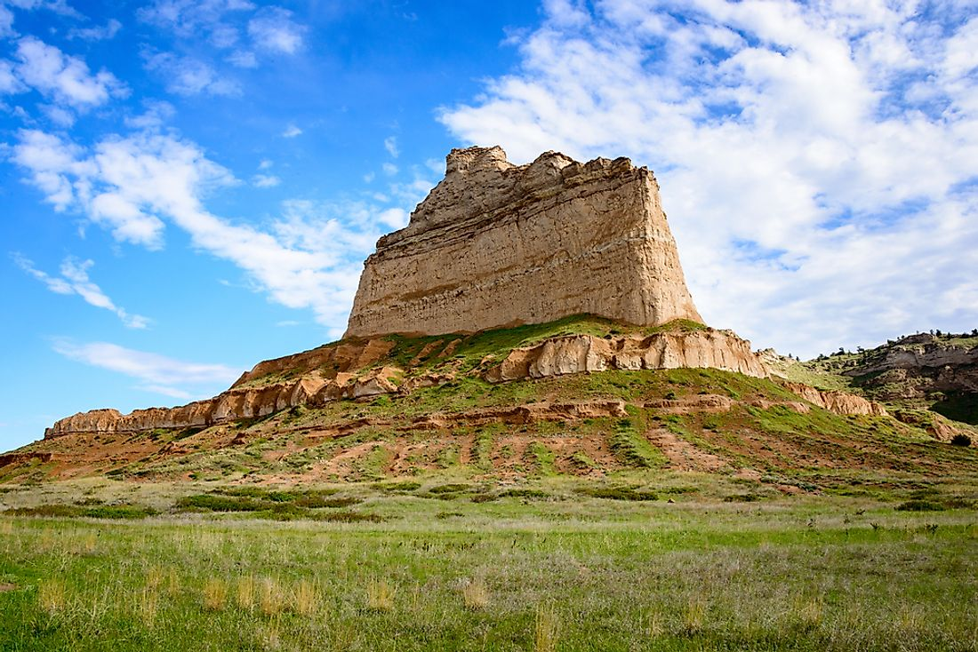 Scotts Bluff National Monument - Unique Places in North America