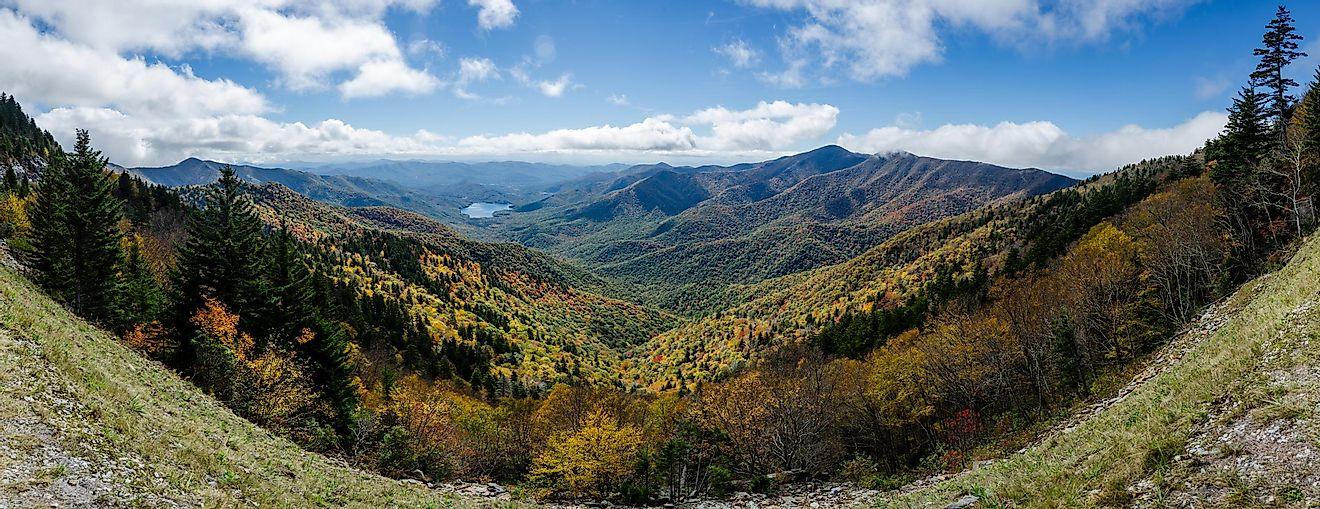 Blue Ridge Mountains North Carolina Unique Places Around