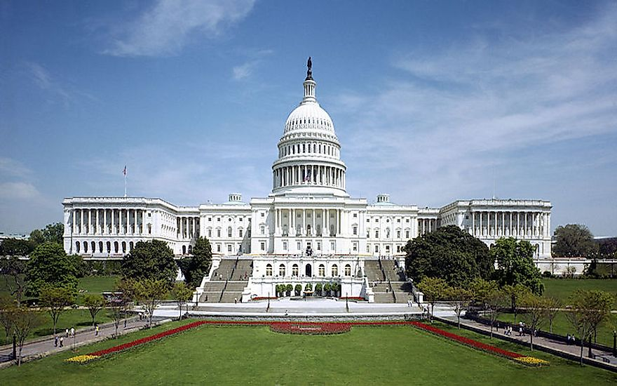 Capitol Building: the Home of the United States Congress