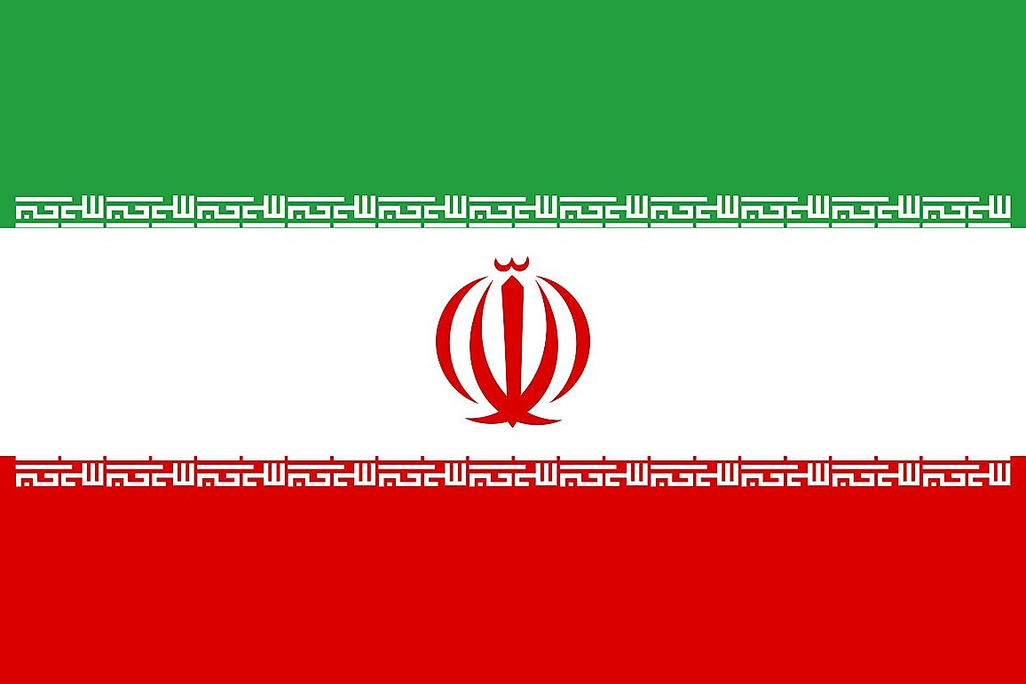 What Do The Colors And Symbols Of The Flag Of Iran Mean?