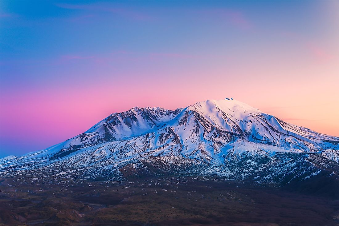 Mount St. Helens - Unique Places in North America