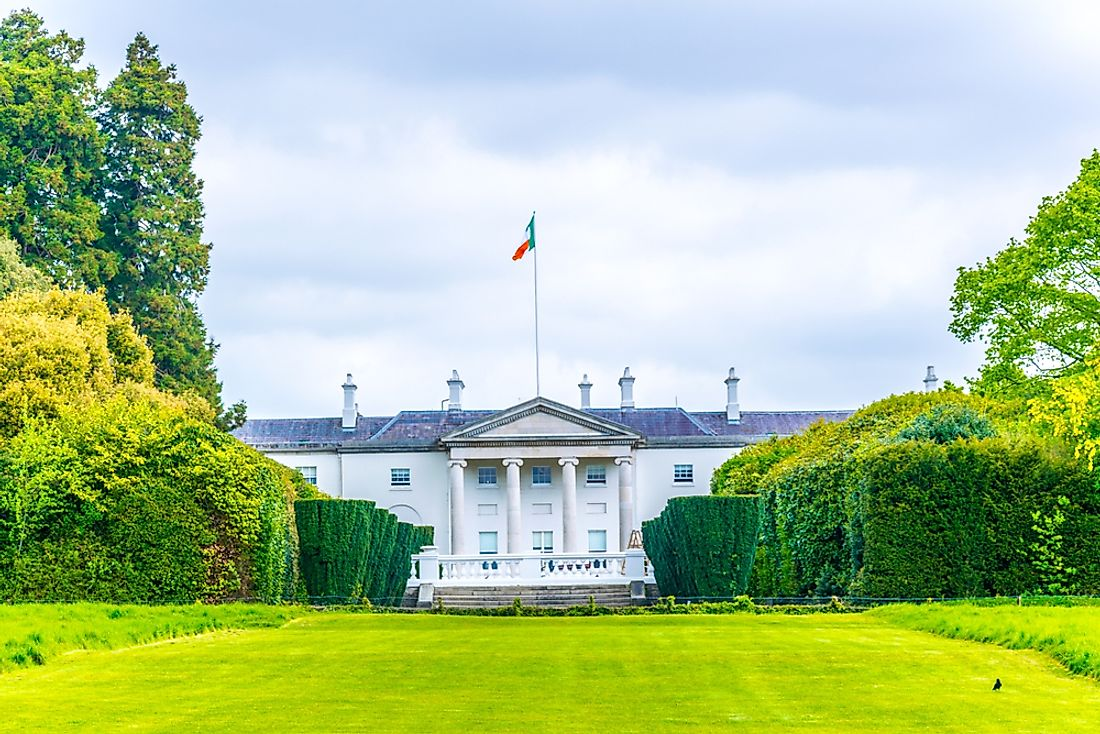Where Does The President Of Ireland Live?