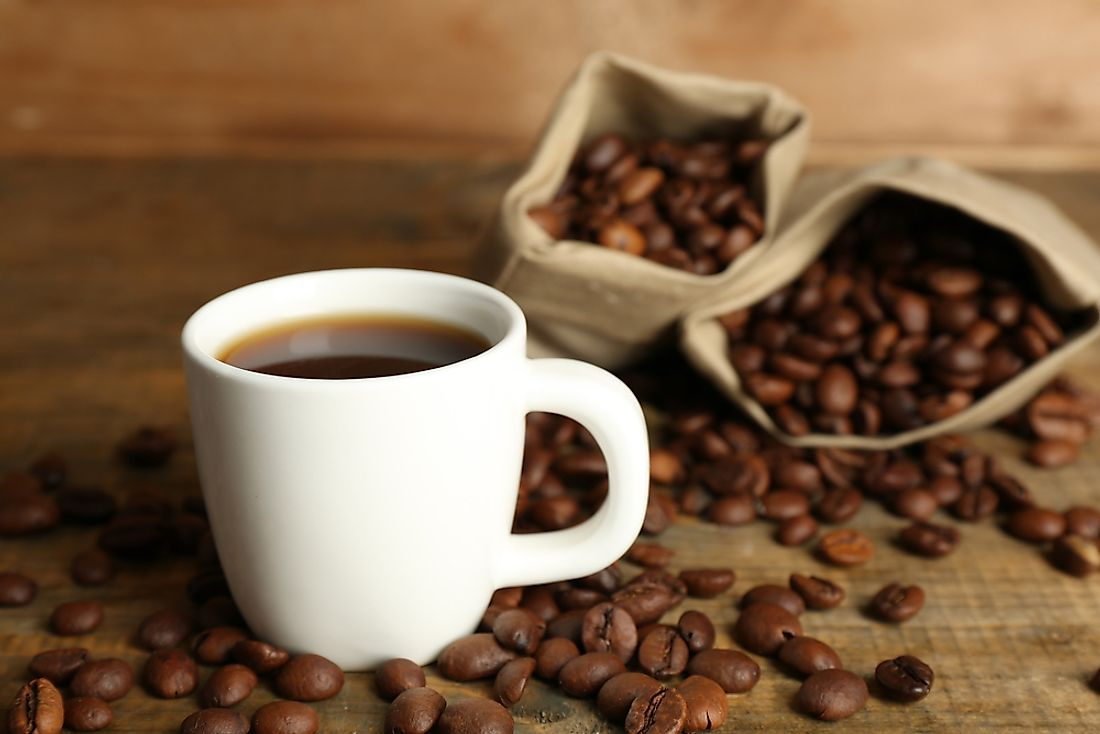 Leading asian country for coffee