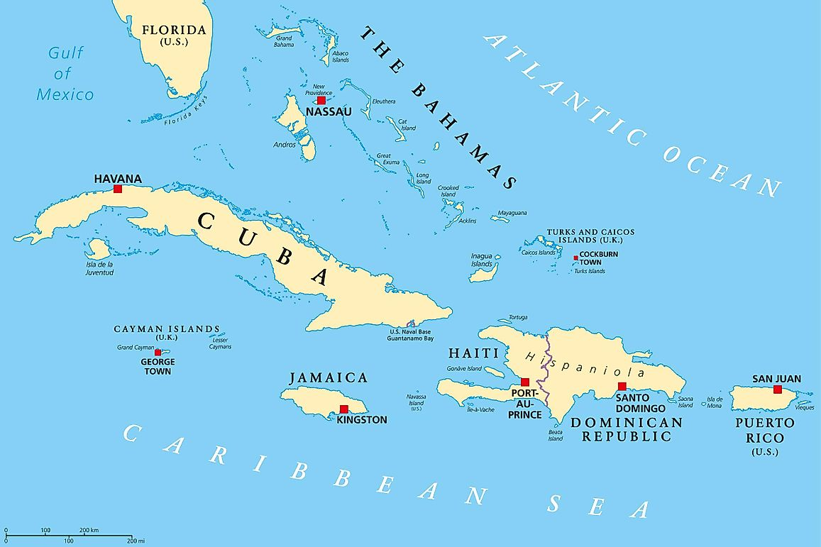 Caribbean Countries - WorldAtlas.com