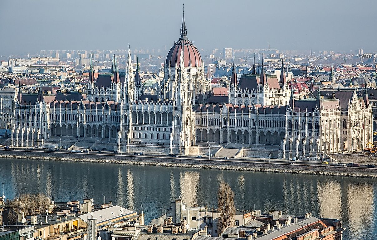 Hungarian National Parliament - Unique Places around the World