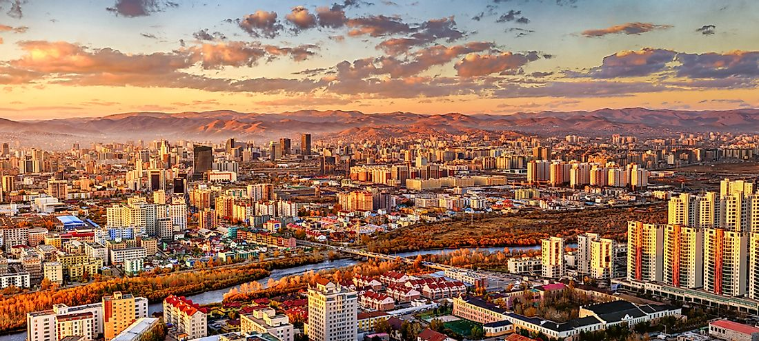 What Is The Capital City Of Mongolia?