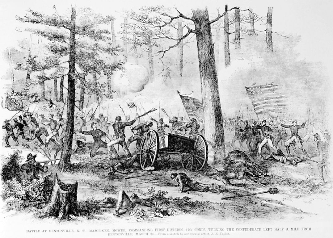 The Battle of Bentonville: The American Civil War
