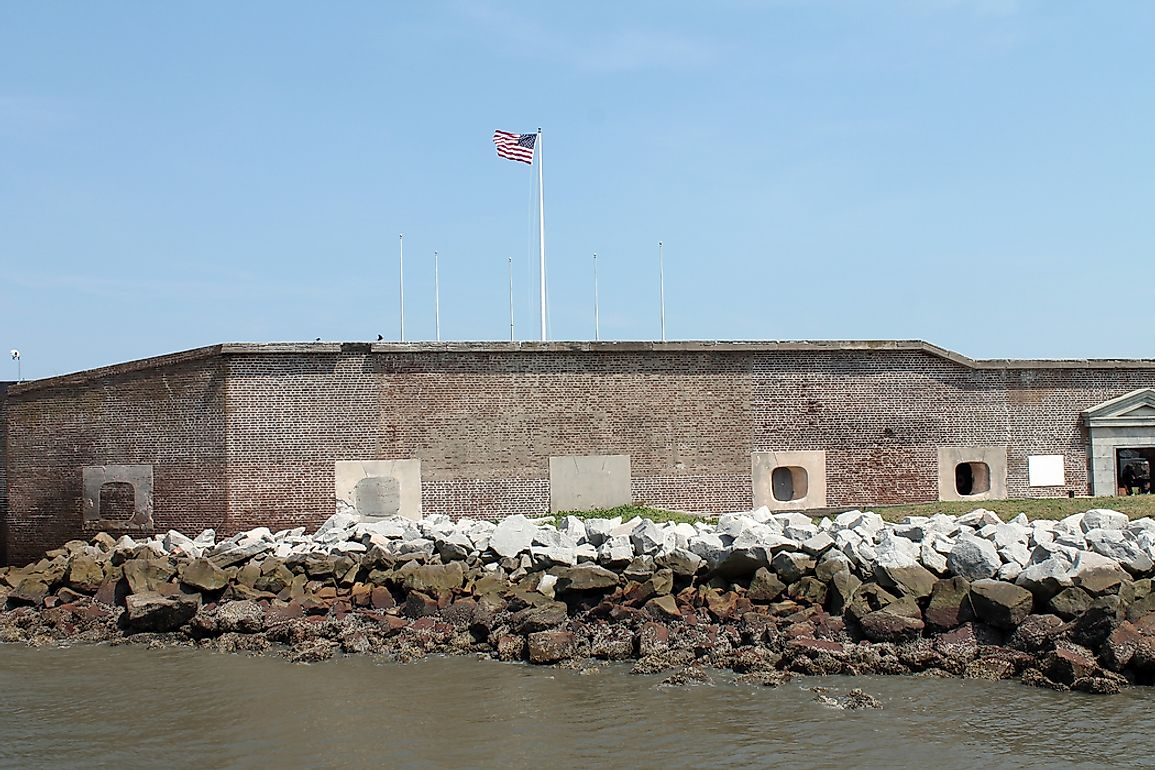 The Battle of Fort Sumter - American Civil War