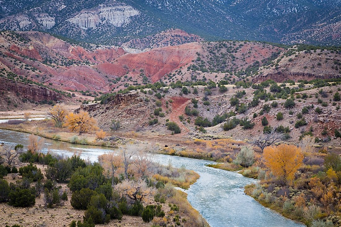 The 10 Longest Rivers in New Mexico