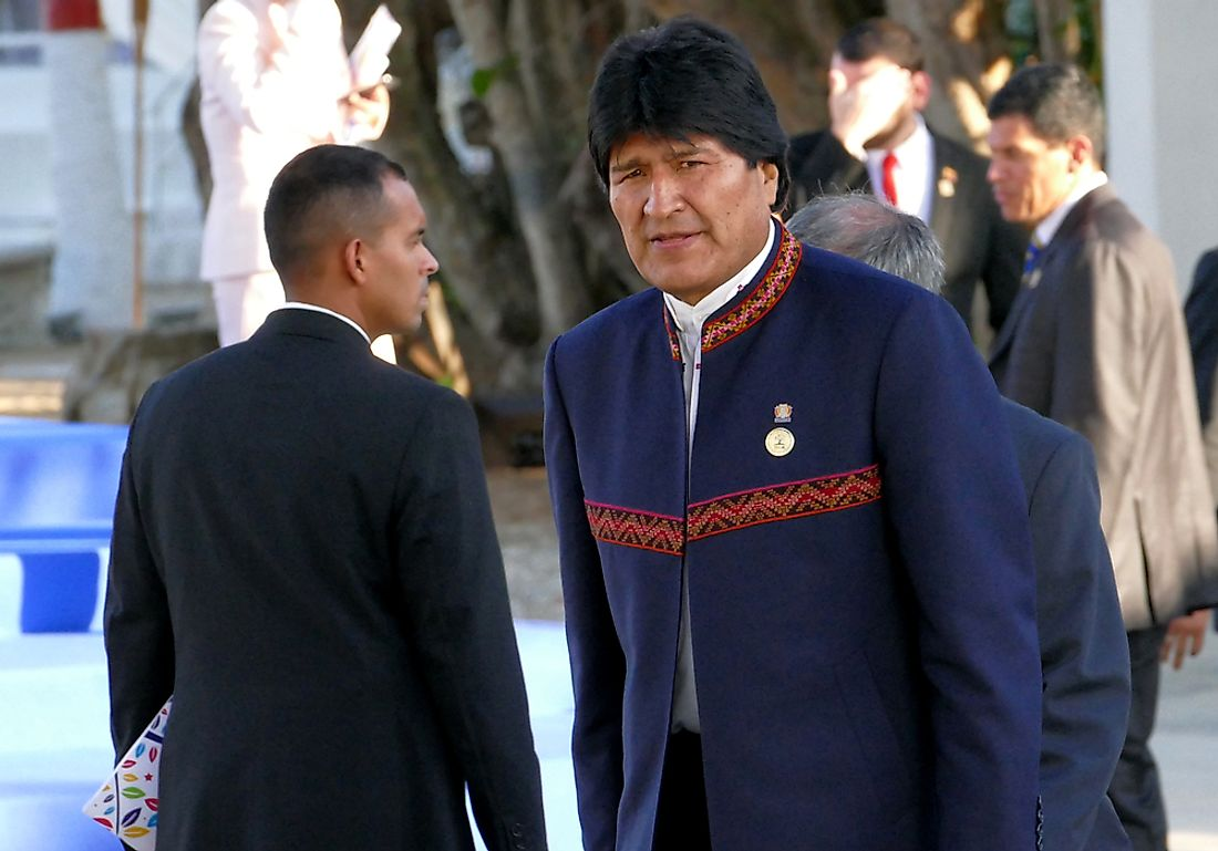List of Presidents of Bolivia