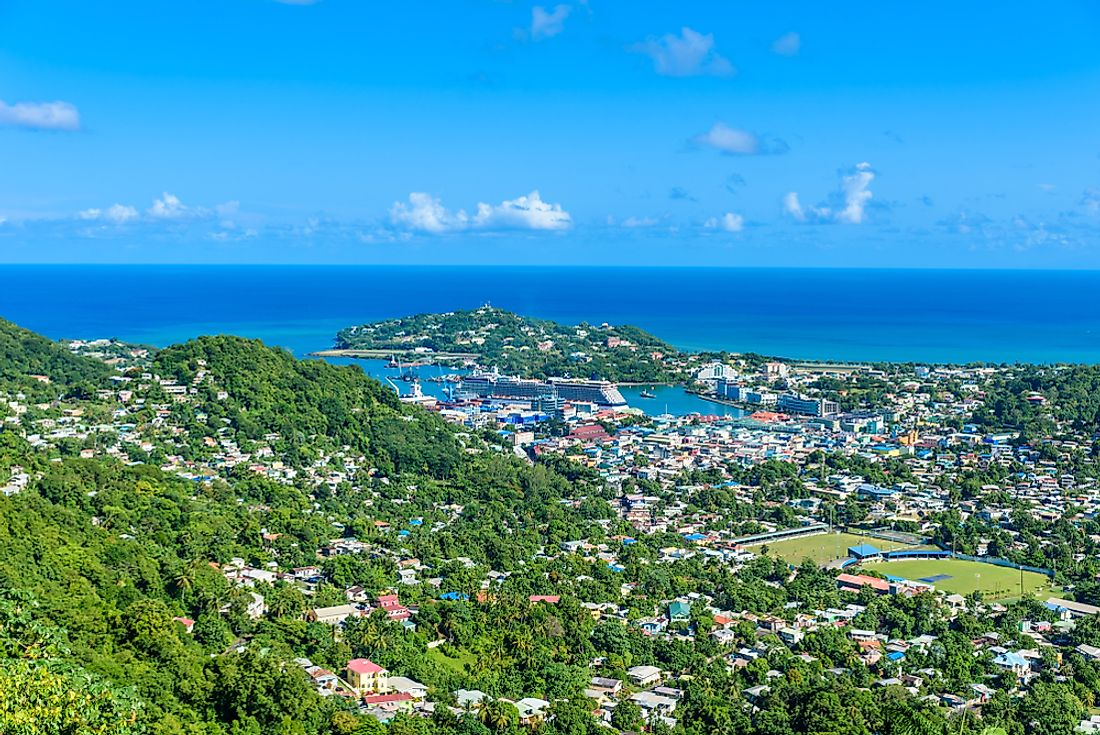 What Is The Capital Of Saint Lucia?