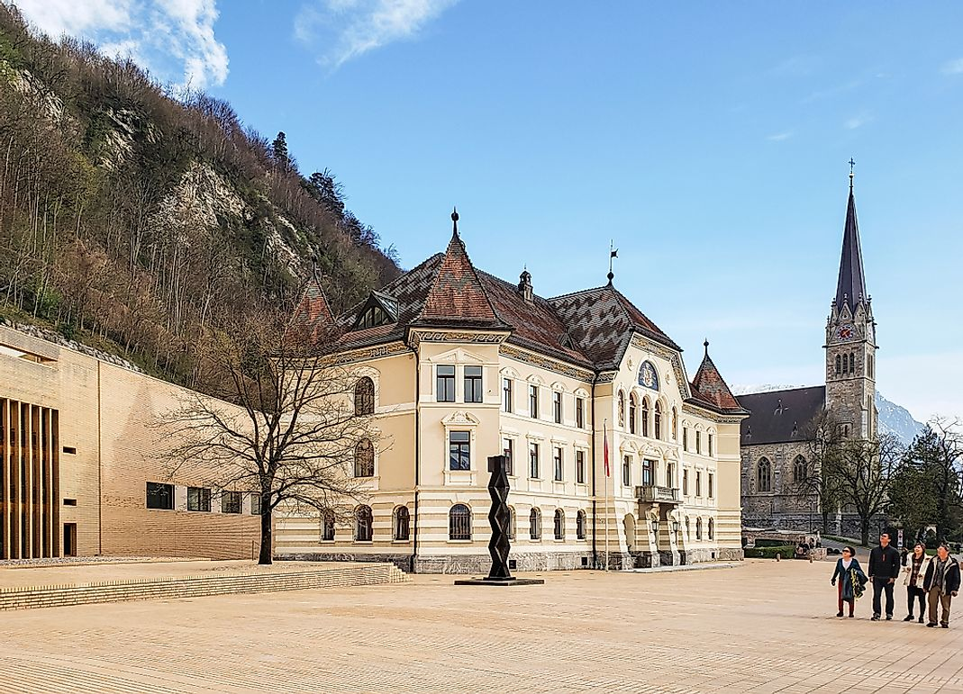 What Is The Ethnic Composition Of Liechtenstein?