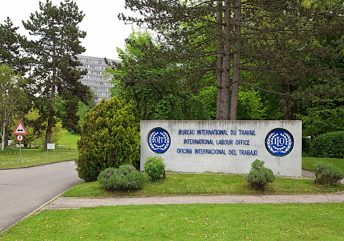 Where Is The Headquarters Of The International Labor Organization (ILO) Located?