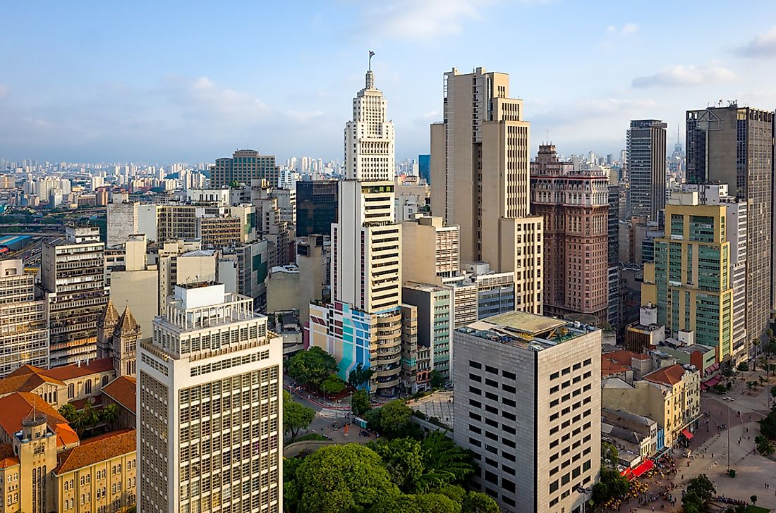 The Biggest Cities in Brazil
