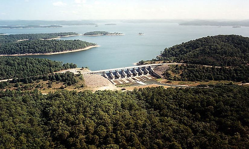 The Biggest Lakes in Oklahoma