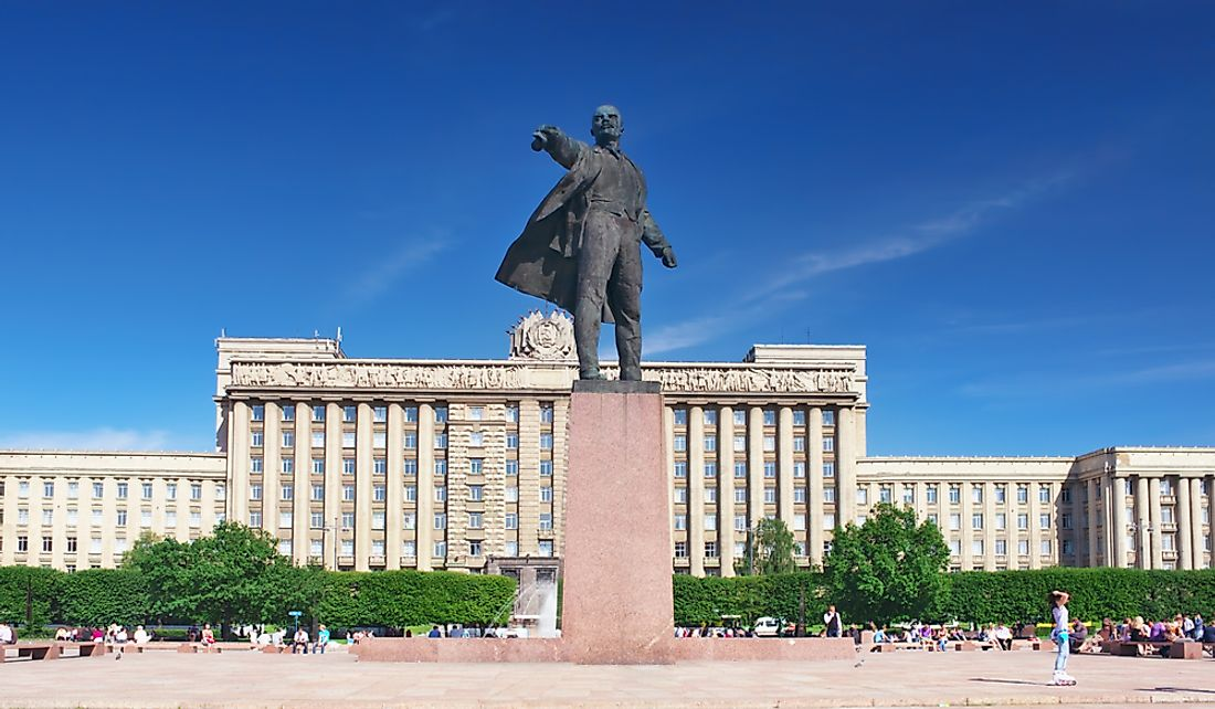 Which City Was Known As Leningrad?