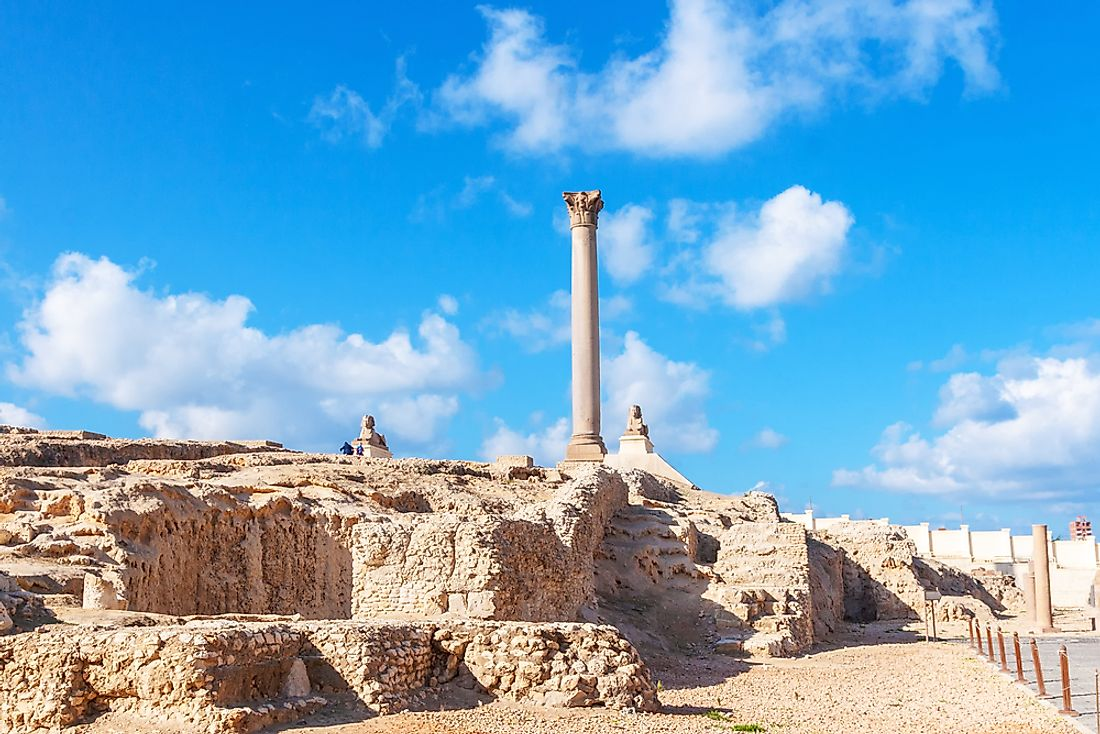 Fascinating Facts About The Pompey's Pillar In Alexandria, Egypt