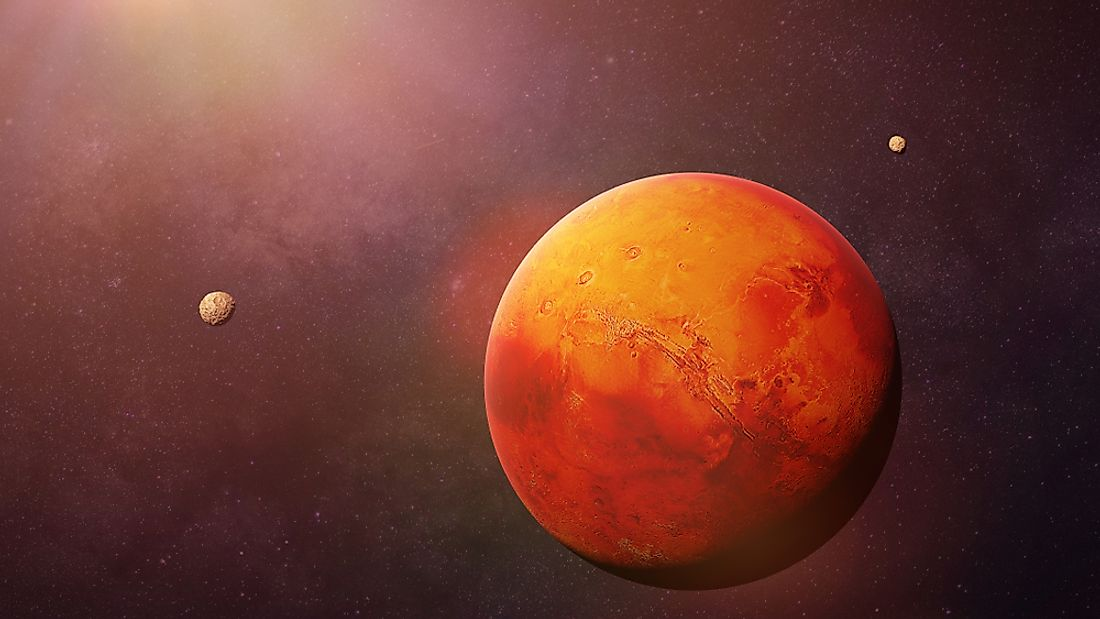 How Did Mars Get Its Name?