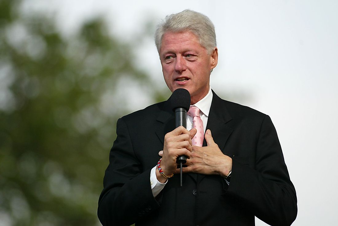 Bill Clinton – 42nd President of the United States