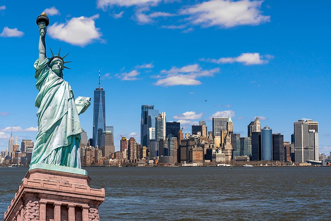 Which State is the Statue of Liberty In?