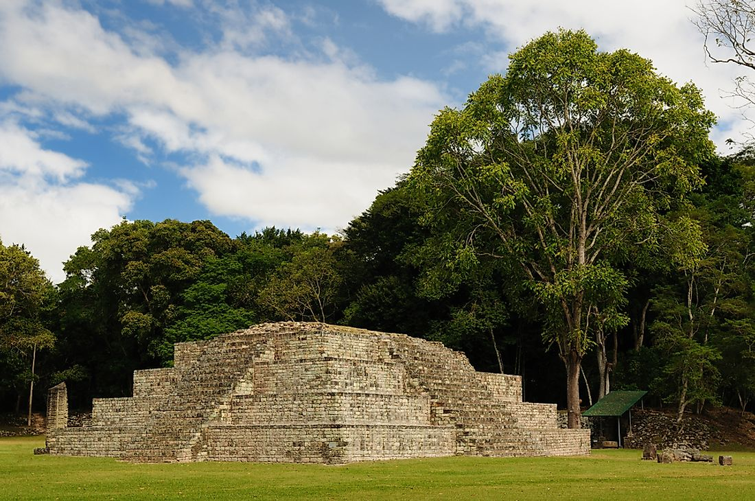 The Copan Maya Archaeological Site, Honduras