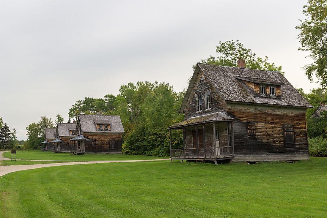 Famous Ghost Towns in Canada