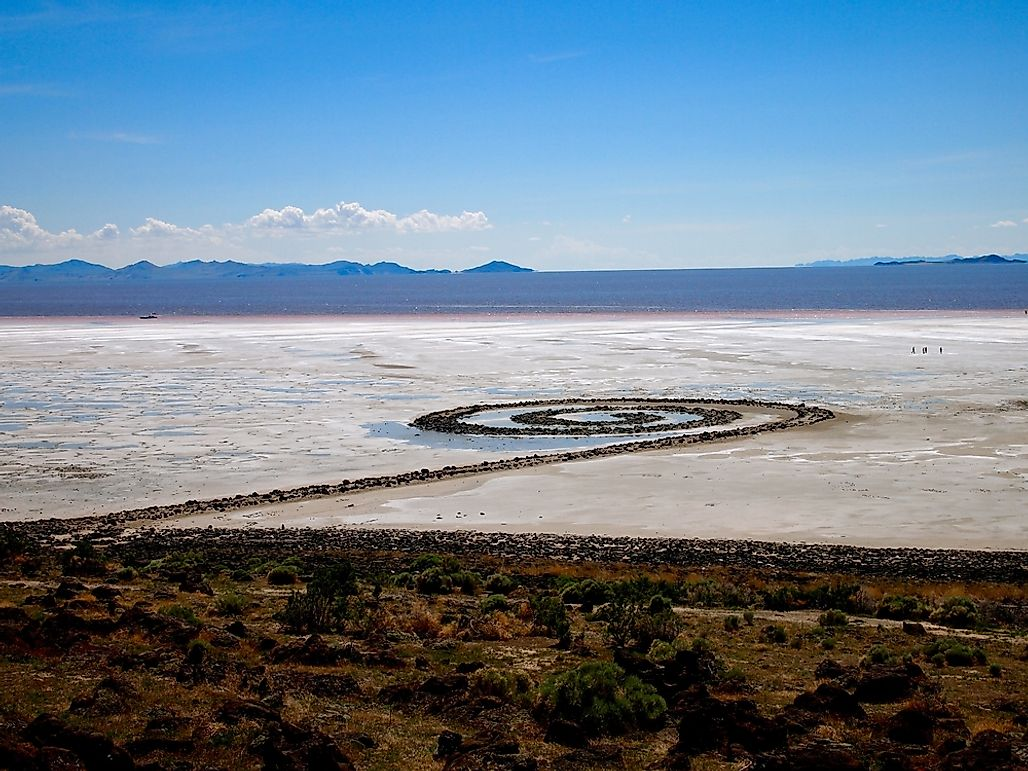 Spiral Jetty, Utah - Unique Places Around The World