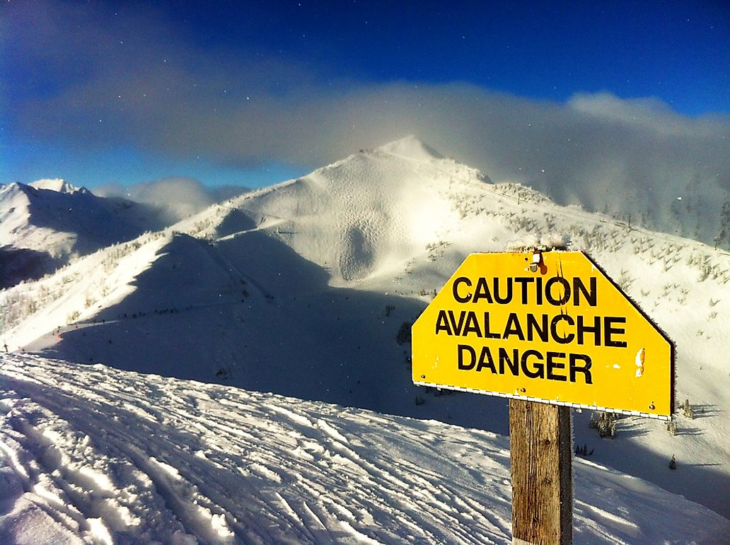 What Should You Do If You're Caught in an Avalanche?