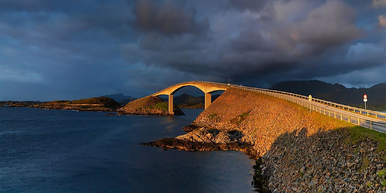 Atlantic Ocean Road, Norway: Unique Places In The World