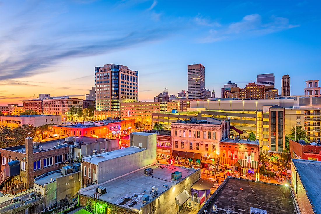 The 10 Biggest Cities In Tennessee