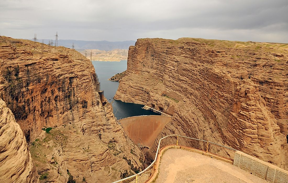 The Tallest Dams in Iran