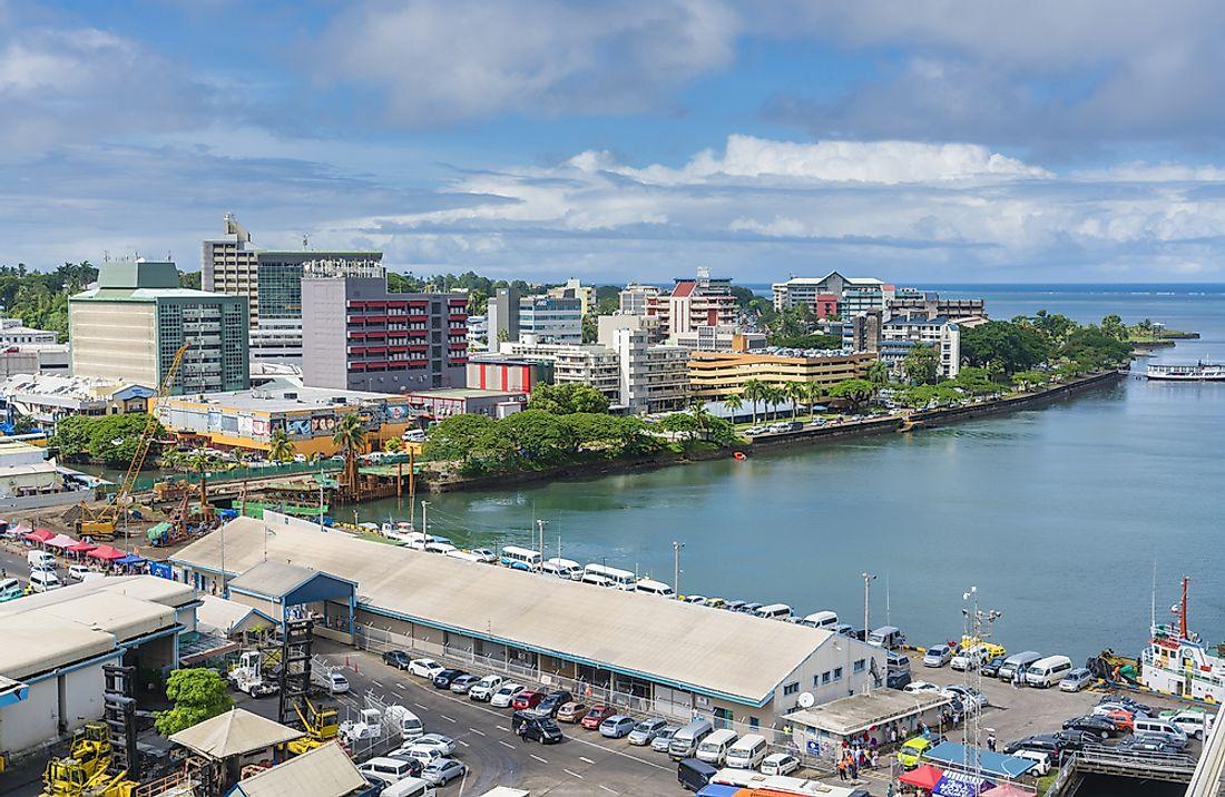 The Biggest Cities And Towns In Fiji Worldatlas Com